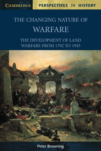 The Changing Nature of Warfare von Peter Browning