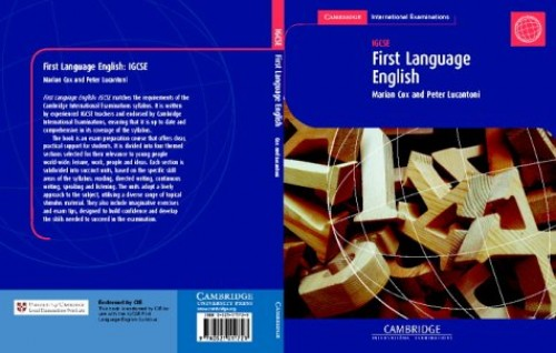 First Language English: IGCSE Coursebook by Marian Cox