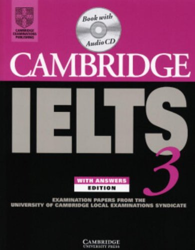 Cambridge IELTS 3 Self-study Pack By University of Cambridge Local Examinations Syndicate