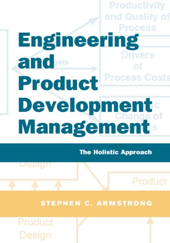 Engineering and Product Development Management By Stephen Armstrong