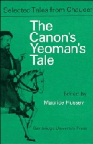 The-Canon-Yeoman-039-s-Prologue-and-Tale-From-the-by-Chaucer-Maurice-Paperback