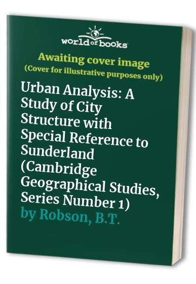 Urban Analysis By B.T. Robson