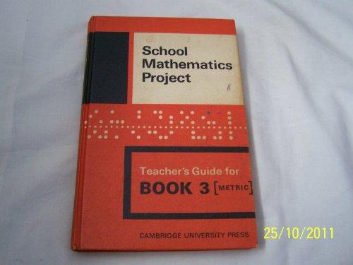 Smp Book 3 Teachers By School Mathematics Project