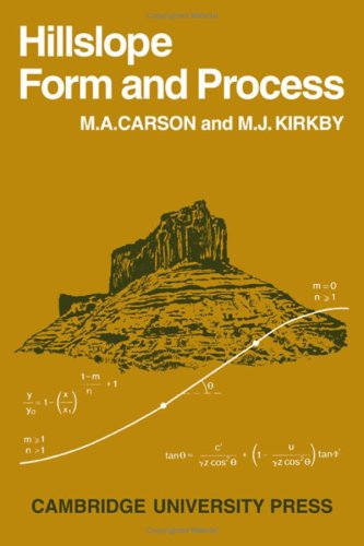 Hillslope Form and Process By M. A. Carson