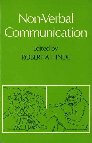 Non-verbal Communication By Robert A. Hinde