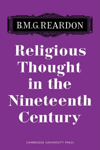 Rlgious Thought 19 Century By Reardon
