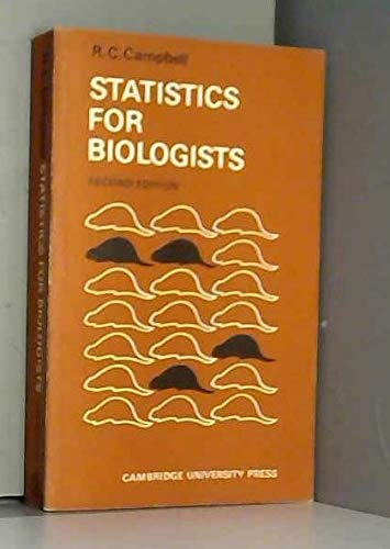 Statistics for Biologists By Campbell