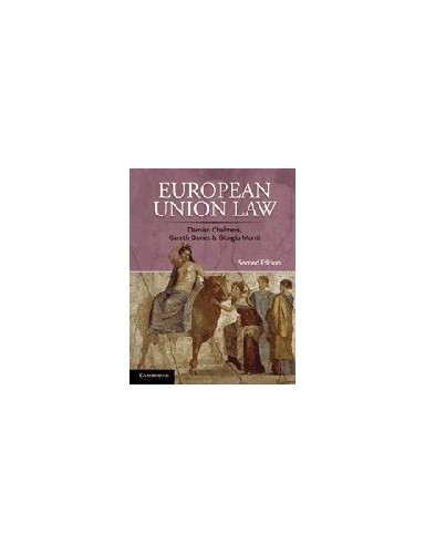 European Union Law: Cases and Materials by Damian Chalmers
