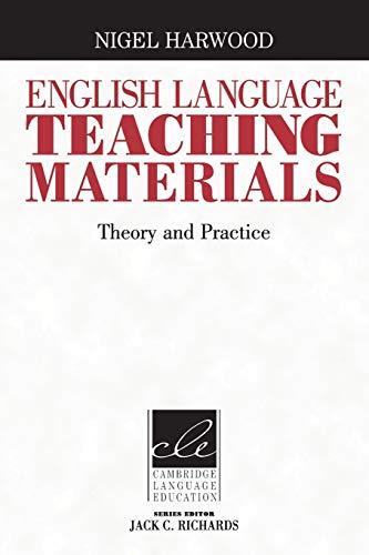English Language Teaching Materials By Nigel Harwood (University of Essex)
