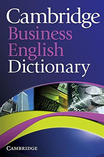 Cambridge Business English Dictionary By Other