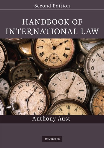 Handbook of International Law By Anthony Aust (London School of Economics and Political Science)