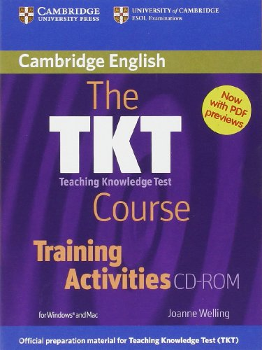 The TKT Course Training Activities CD-ROM By Joanne Welling