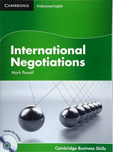 International Negotiations Student's Book with Audio CDs (2) (Cambridge Business Skills) By Mark Powell