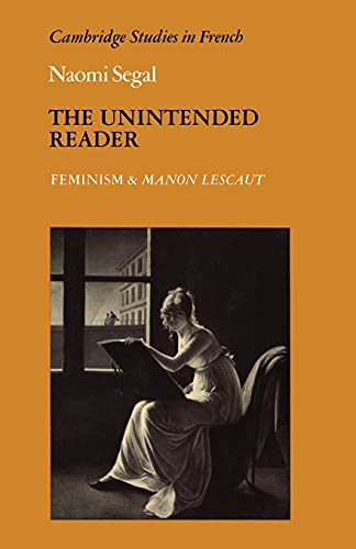The Unintended Reader By Naomi Segal