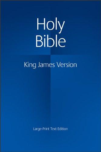 KJV Large Print Text Bible, KJ650:T