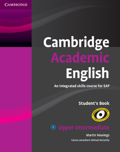 Cambridge Academic English B2 Upper Intermediate Student's Book By Martin Hewings