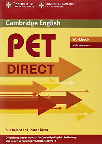 PET Direct Workbook with answers By Sue Ireland
