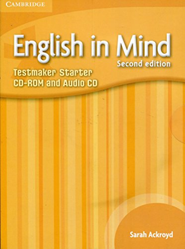 English in Mind Starter Level Testmaker CD-ROM and Audio CD By Sarah Greenwood