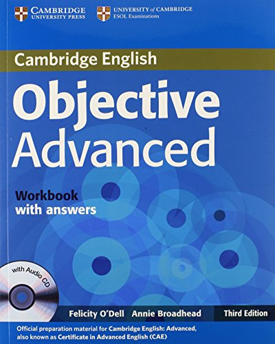 Objective Advanced Workbook with Answers with Audio CD By Felicity O'Dell