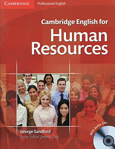 Cambridge English for Human Resources Student's Book with Audio CDs (2) by George Sandford