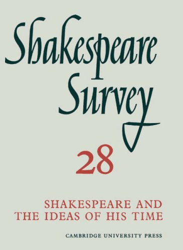 Shakespeare Survey: Volume 28, Shakespeare and the Ideas of His Time par Kenneth Muir