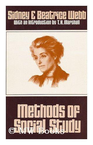 Methods of Social Study By Sidney Webb