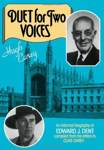 Duet for Two Voices By Hugh Carey