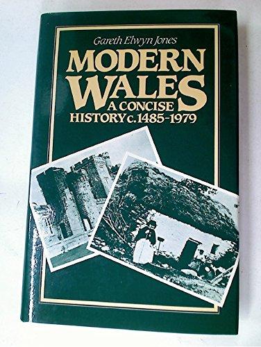 Modern Wales By Gareth Elwyn Jones