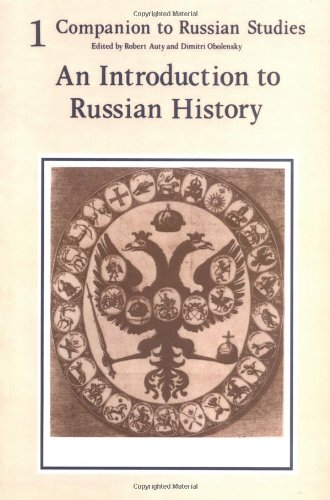 Companion to Russian Studies By Robert Auty