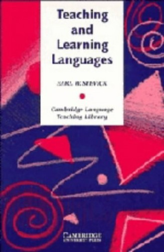 Teaching and Learning Languages By Earl W. Stevick