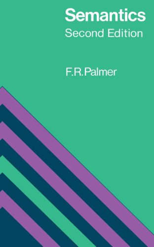 Semantics: Second Edition By Frank Robert Palmer
