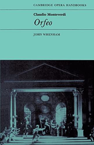 Claudio Monteverdi: Orfeo By John Whenham