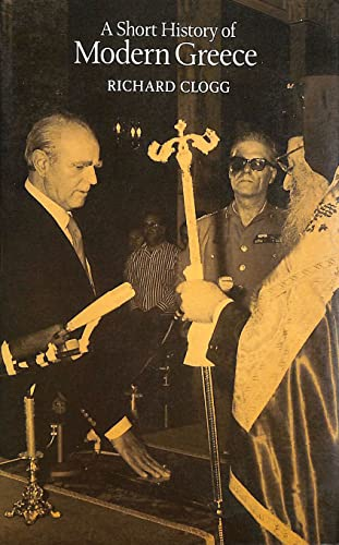 Short History of Greece By Richard Clogg