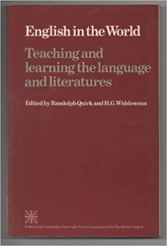 English in the World By Randolph Quirk