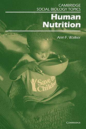 Human Nutrition By Ann Walker