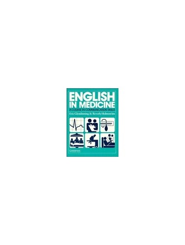 English in Medicine Course book By Eric H. Glendinning