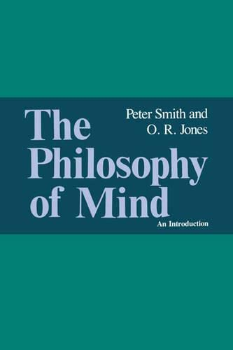 The Philosophy of Mind By Peter Smith