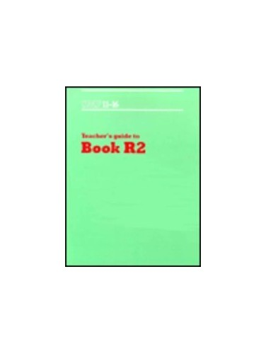 SMP 11-16 Teacher's Guide to Book R2 By School Mathematics Project