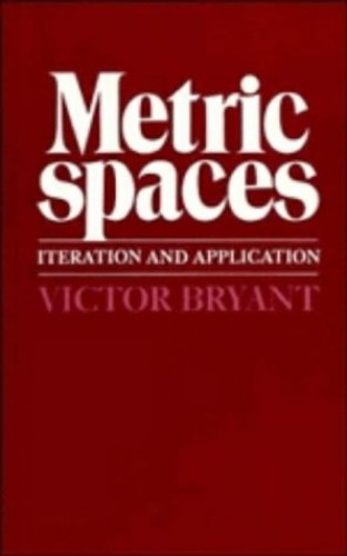 Metric Spaces By Victor Bryant