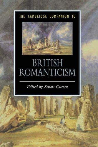 The Cambridge Companion to British Romanticism par Stuart Curran