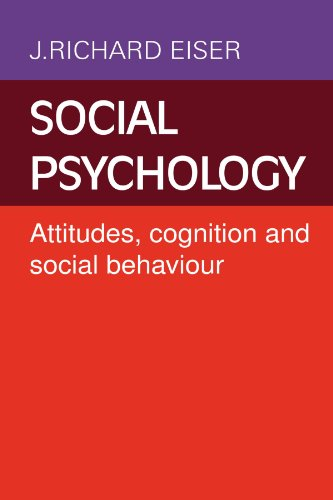 Social Psychology By J. Richard Eiser