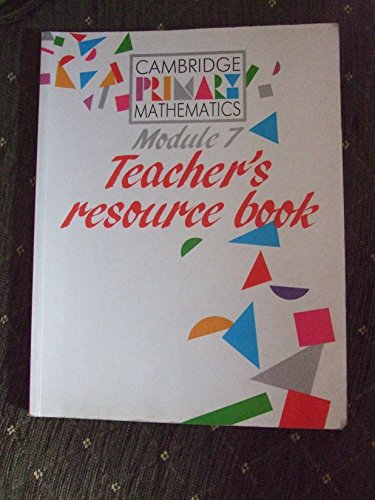 Module 7 Teacher's resource book By Roy Edwards