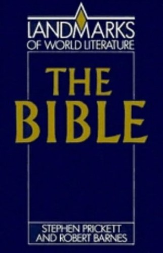 The Bible By Stephen Prickett