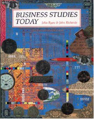 Business Studies Today By John Ryan