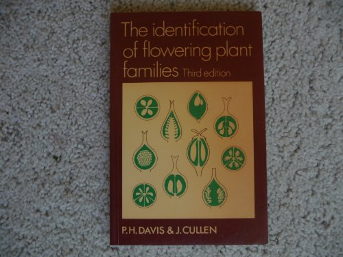 The Identification of Flowering Plant Families By P. H. Davis