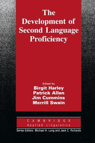 The Development of Second Language Proficiency By Birgit Harley