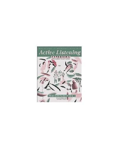 Active Listening: Expanding Understanding through Content Teacher's edition By Marc Helgesen (Miyagi Gakuin Women's College, Japan)