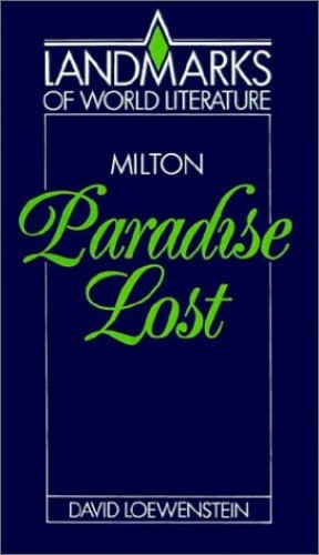 Milton: Paradise Lost By David Loewenstein