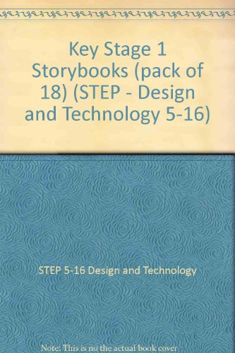 Key Stage 1 Storybooks (pack of 18) By STEP 5-16 Design and Technology