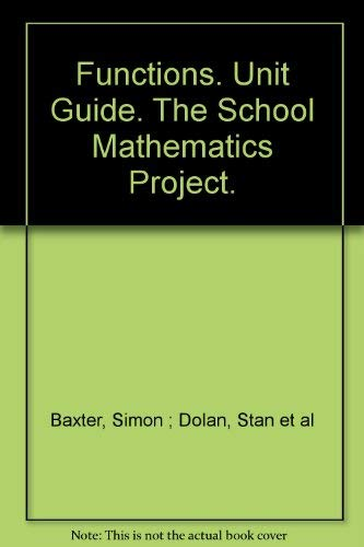 Foundations Unit Guide By School Mathematics Project